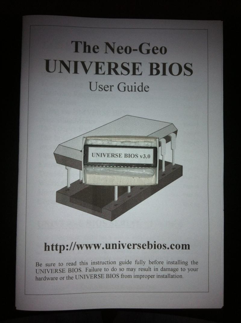 TUTO INSTALLATION UNIVERSE BIOS 3.0 NEO GEO AES 3-3 (serial:021239) Img_1024