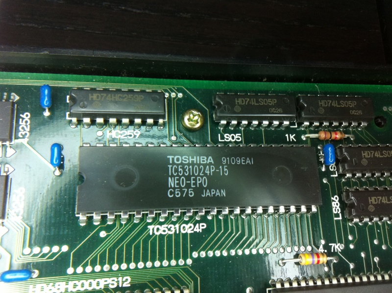 TUTO INSTALLATION UNIVERSE BIOS 3.0 NEO GEO AES 3-3 (serial:021239) Img_1026