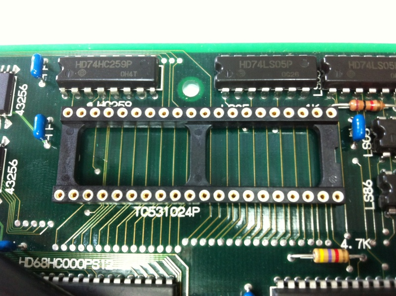 TUTO INSTALLATION UNIVERSE BIOS 3.0 NEO GEO AES 3-3 (serial:021239) Img_1030