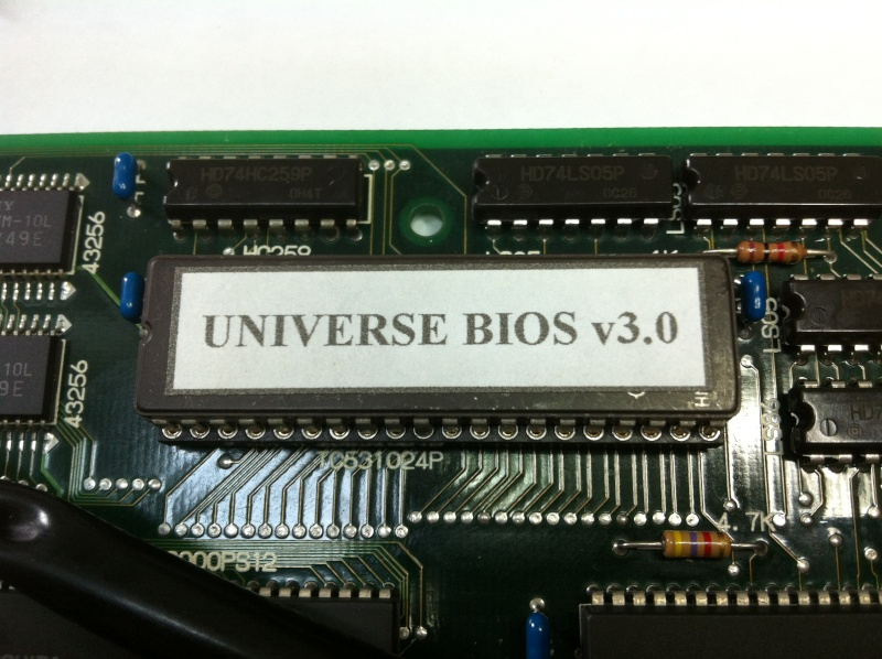TUTO INSTALLATION UNIVERSE BIOS 3.0 NEO GEO AES 3-3 (serial:021239) Img_1032