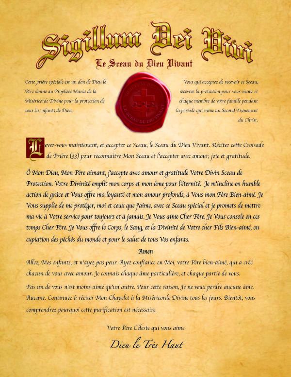 """Distribuez largement le """"Sceau du Dieu Vivant"""" auprès de vos proches ! Seal-f10"""
