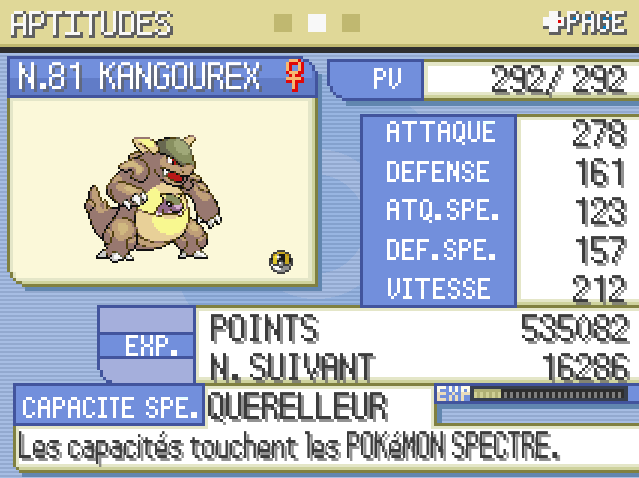 Je cherche un pokemon tank de type normal! Jk10