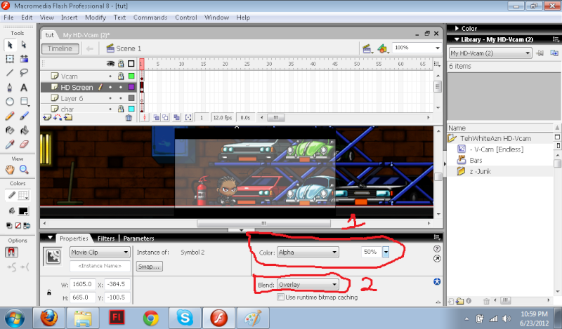 How to Get HD in your Animation Untitl11