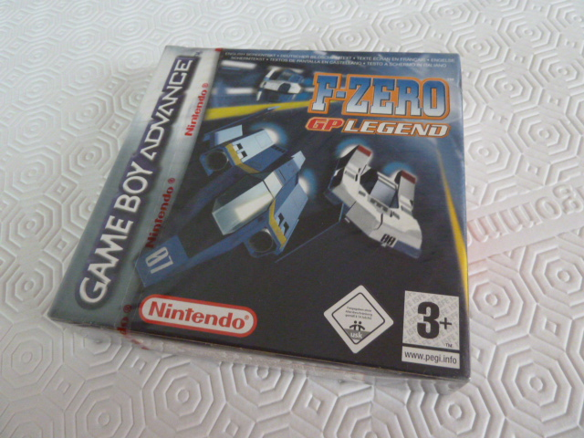 "Collection de NESmania²  "" Gamecube sous blister ""  F-zero10"