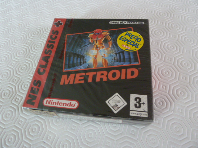 """Collection de NESmania²  """" Gamecube sous blister """"  Metroi10"""