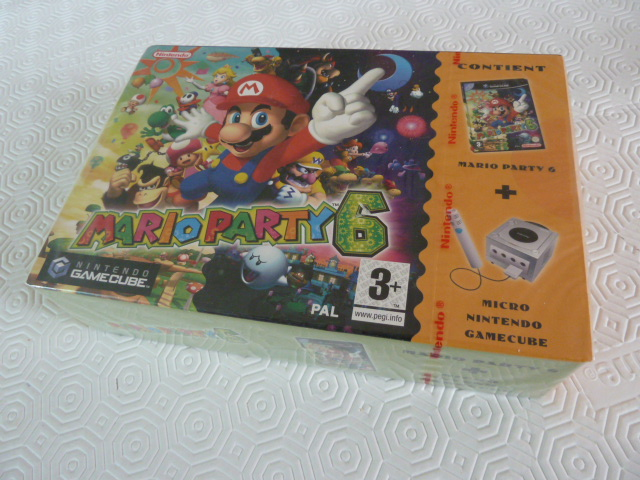 "Collection de NESmania²  "" Gamecube sous blister ""  P1010820"