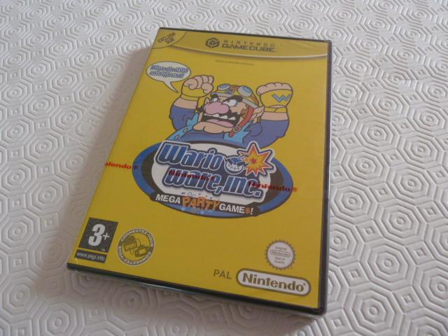 """Collection de NESmania²  """" Gamecube sous blister """"  Wario_10"""