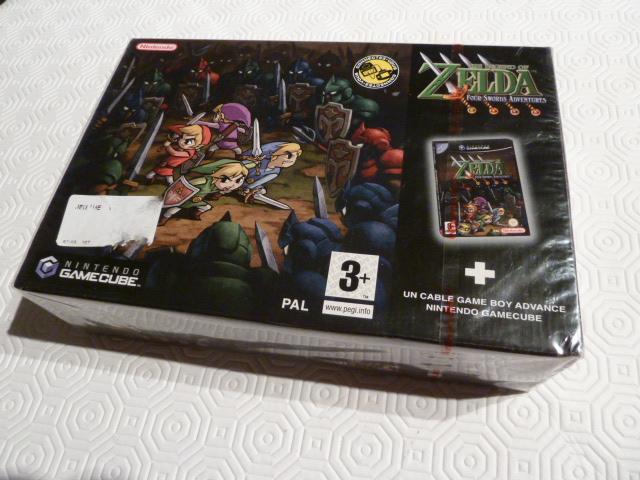 """Collection de NESmania²  """" Gamecube sous blister """"  Zelda_11"""
