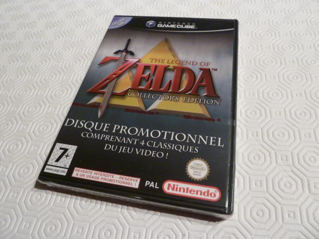 """Collection de NESmania²  """" Gamecube sous blister """"  Zelda_12"""