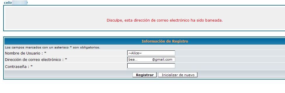 (2653) Problema con cuenta de email baneada Ban910