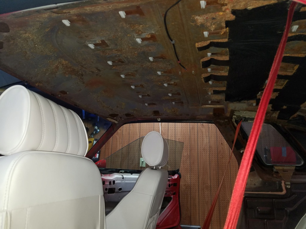 Do your cars have headliner insulation? 20171011