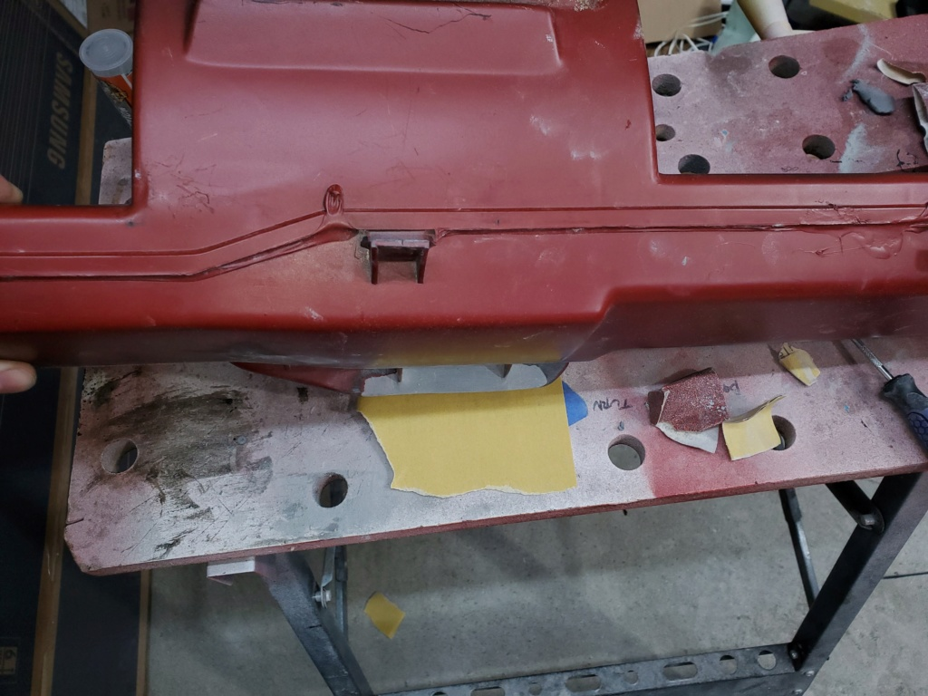 A/C duct, plastic repair? 20200512