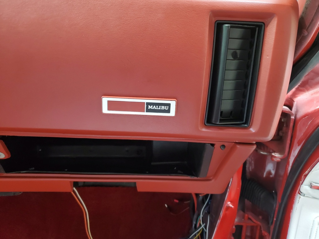 1973 chevelle black ac dash pad for sale 20200536