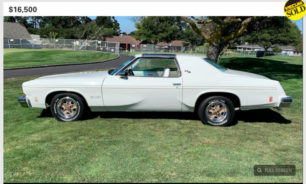 75 Hurst Olds W30- Sacramento Screen12