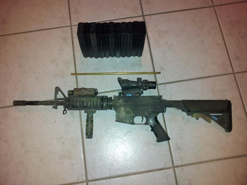[VENTE] M4A1 G&P !!, FLC woodland sds, divers matos .... faites vos prix ! 20121110