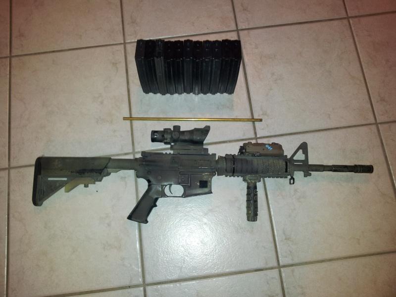 [VENTE] M4A1 G&P !!, FLC woodland sds, divers matos .... faites vos prix ! 20121111