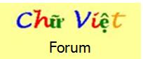 Chữ Việt Forum