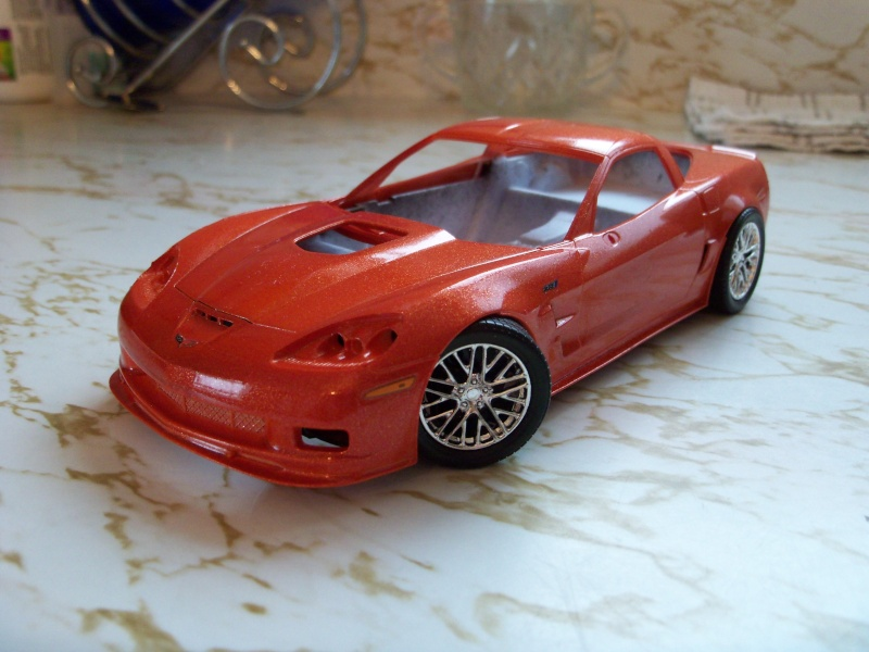 Chevy corvette ZR-1 2010 Orange 100_4534