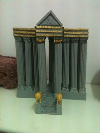 les 12 temples du zodiaques par benak78 Lion11
