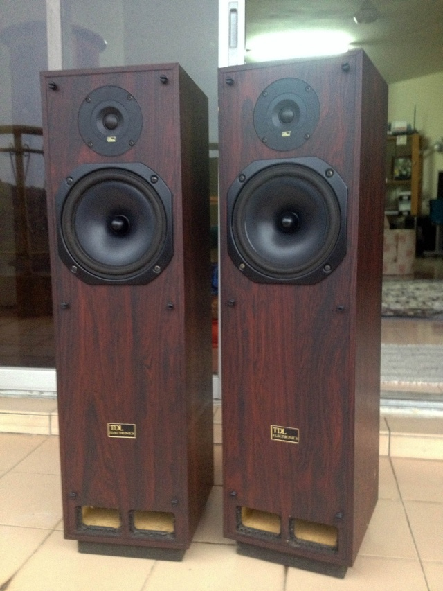 TDL RTL2 TRANSMISSION LINE SPEAKERS (Sold)