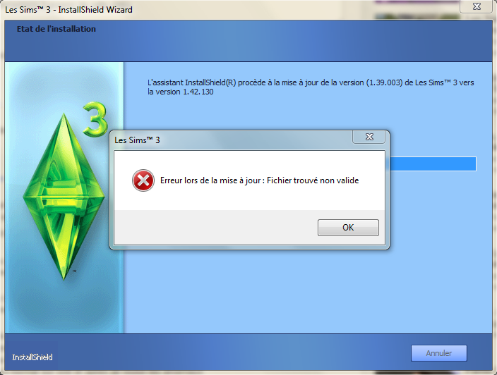 """""""Fichier trouver non valide"""" Captur12"""
