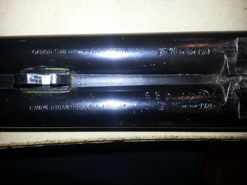 """Trouvaille de """"vieux"""" fusils 20121119"""