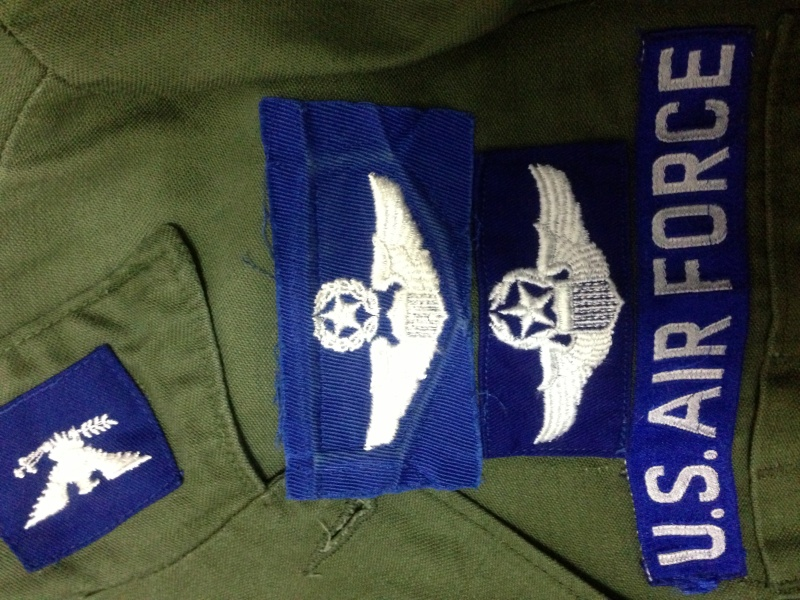Command pilot wings in blue twill Img_0012