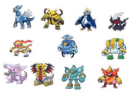 Pokemon Fusion Contest! Legend10