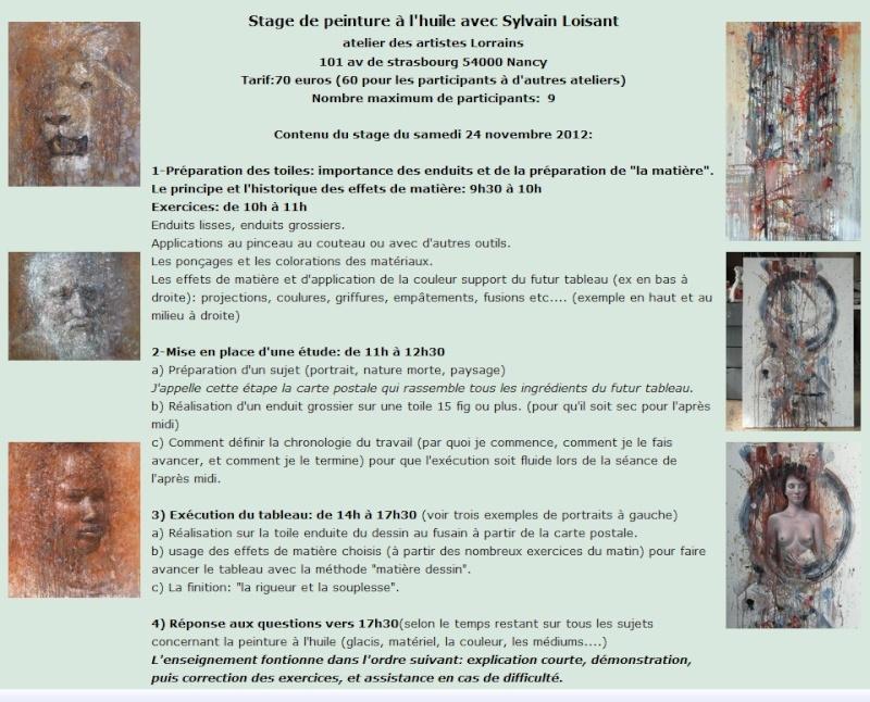 stage de peinture à l'huile avec sylvain Loisant Stage_12