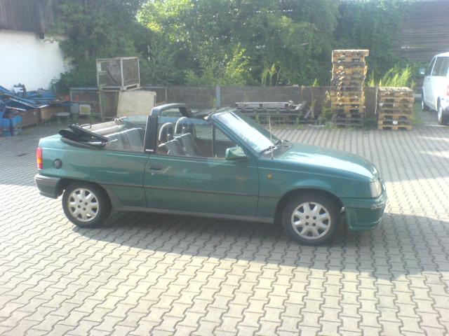 Mein Kadett E Cabrio Dsc01311
