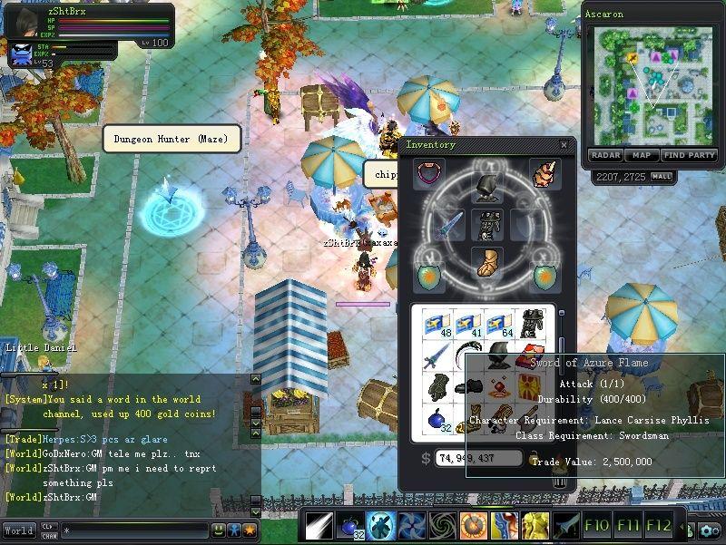 LOST MY DE +14 on app fusion Sword10