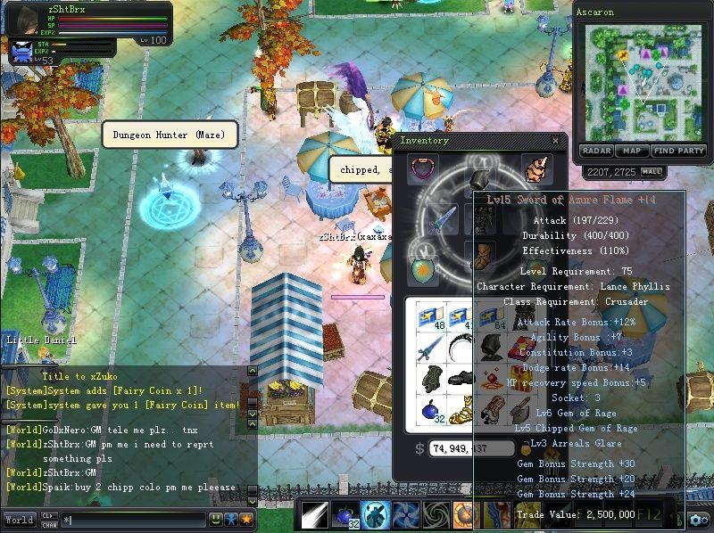 LOST MY DE +14 on app fusion Sword212
