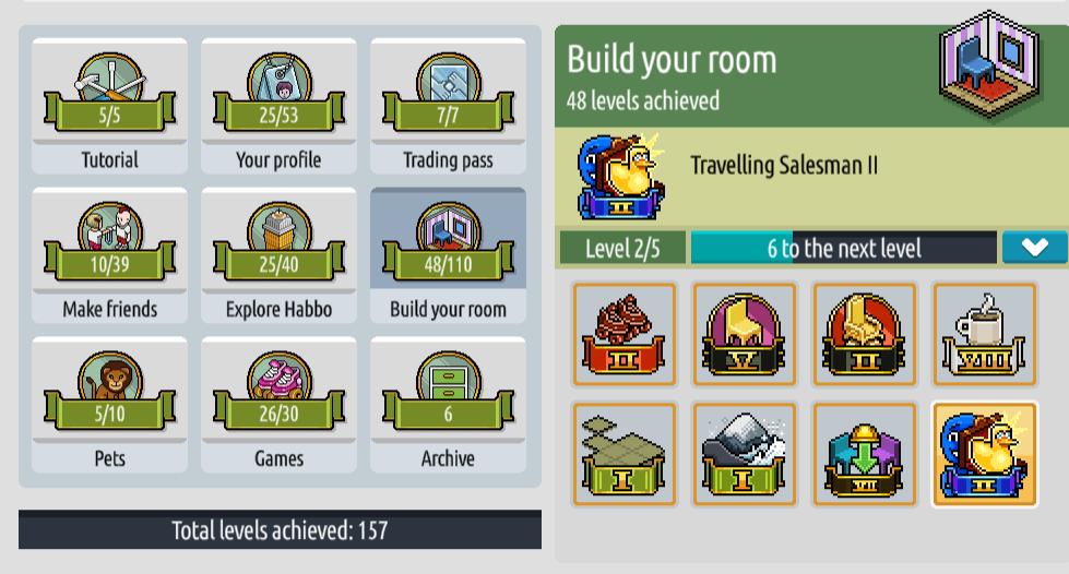 Guida sul sistema di progressione dei livelli di Olsoweir Badges12