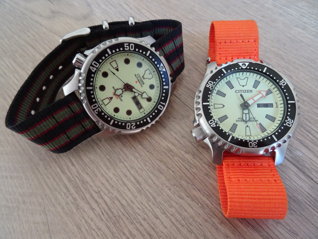 citizen - Comparatif entre 2 torches : Citizen NY0040-09W vs Citizen NY0080-12X Dsc06428