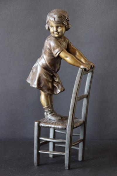 Statuette en régule 14671410