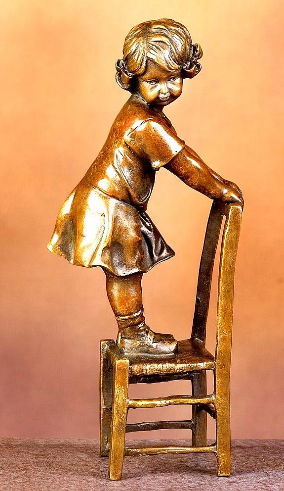 Statuette en régule Sculpt10