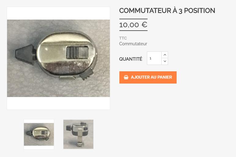 Guidon pour R5 Comm10
