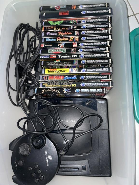 [VDS] Sega Saturn + jeux en lot 22509410