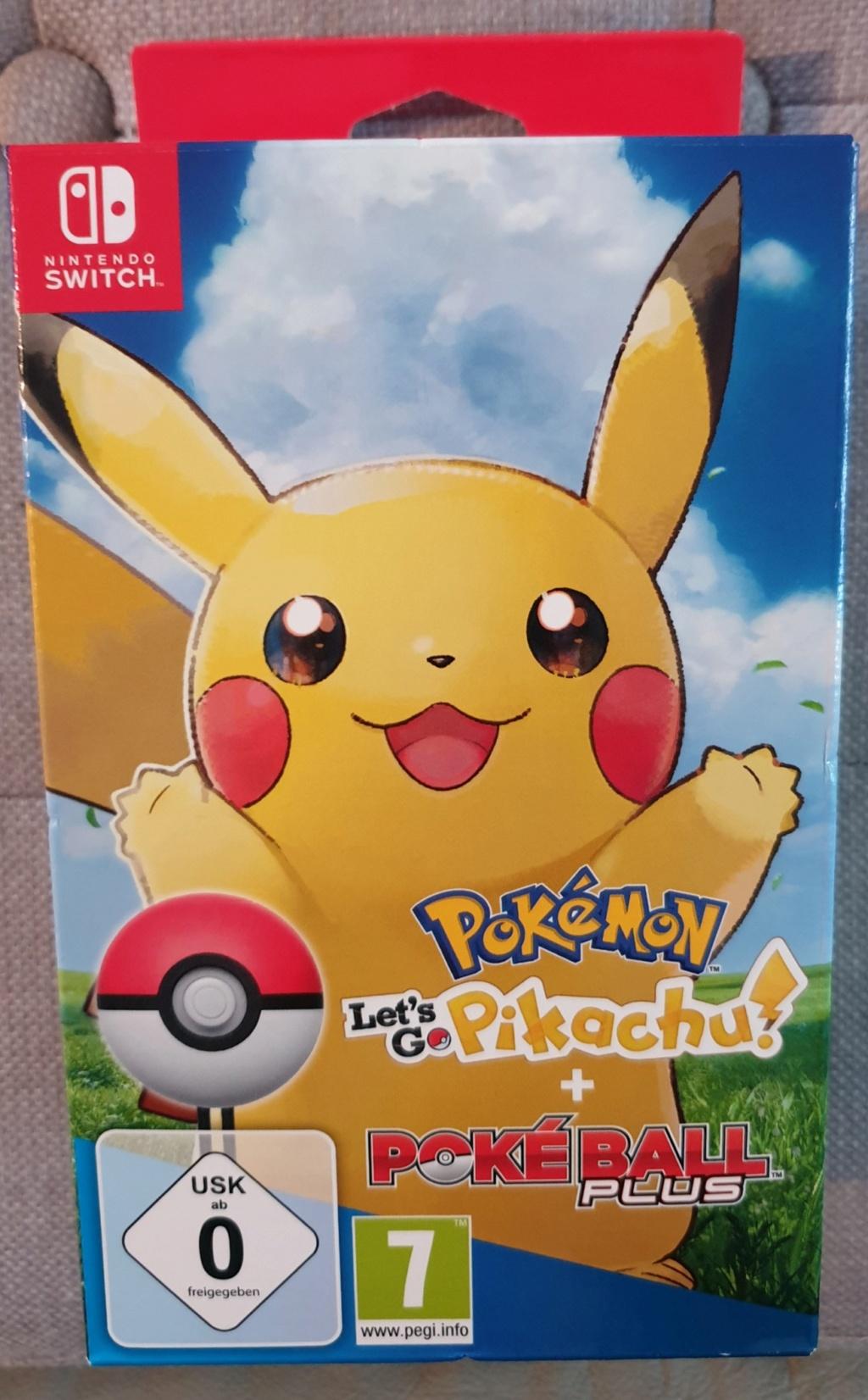 [Vendu] Jeux switch -  Pokemon et pokeball plus neuf Picsar14