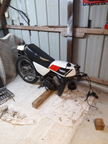Restauration DTMX 125 par Julien  20180812