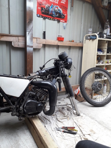 Restauration DTMX 125 par Julien  20180816