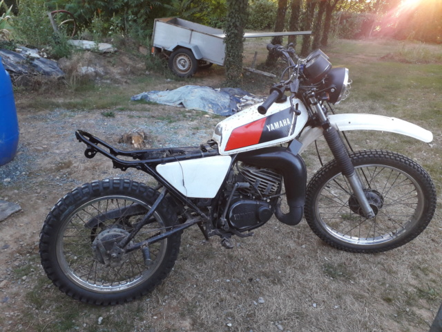Restauration DTMX 125 par Julien  20180915