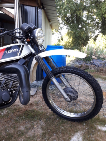 Restauration DTMX 125 par Julien  20180920