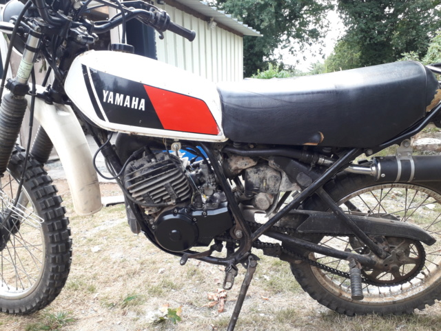 Restauration DTMX 125 par Julien  20180921
