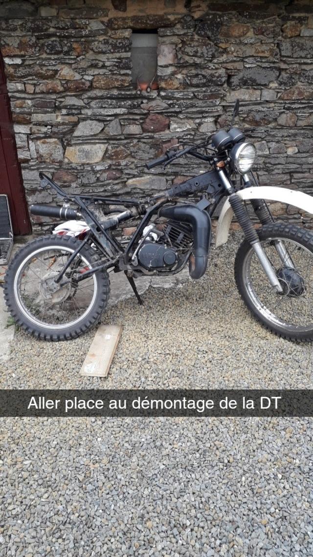 Restauration DTMX 125 par Julien  - Page 2 Snapch11