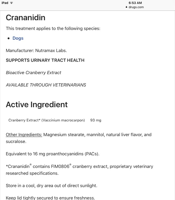 Ingredients and their effects on sensitive digestion - Page 2 Image46