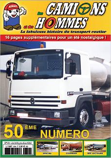 Des Camions et des Hommes n° 50 est paru 5010