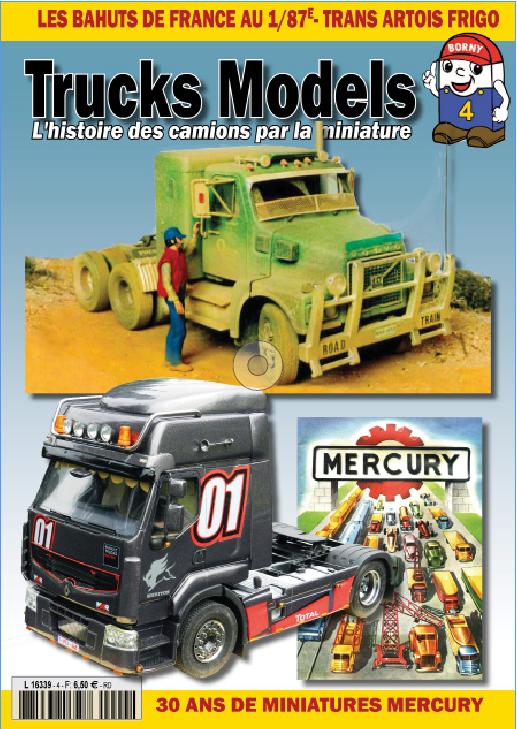 Trucks Models n°4 disponible actuellement en kiosque Couv_t11
