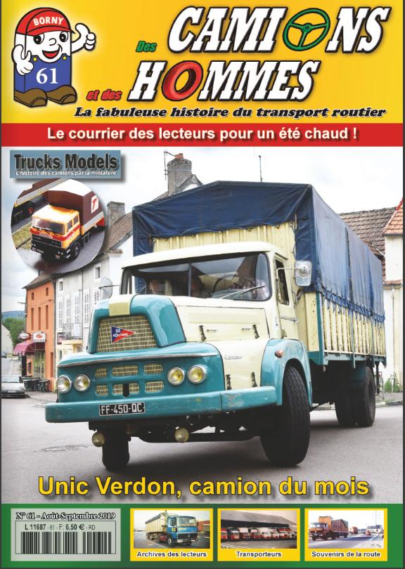 Le n°61 du magazine des Camions et des Hommes  Dch_6110