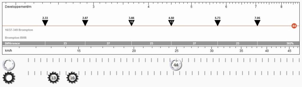 De 2 à 3 pignons ou de 6 à 9 vitesses facile : opération sans usinage [Brompton 9 vitesses] - Page 15 Ritzel14